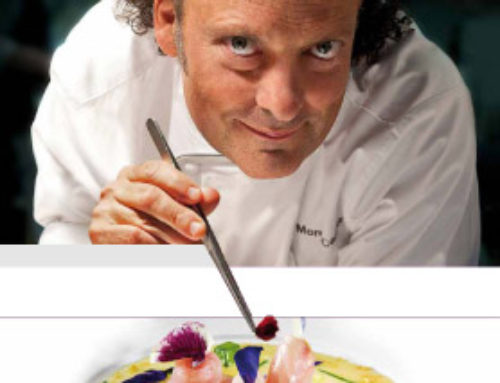Cooking: the recipe by Moreno Cedroni for Mediterranea